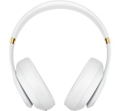 APPLE Studio3 Wired/Wireless Bluetooth Stereo Headset - Over-the-head - Circumaural - White FrontMaximum
