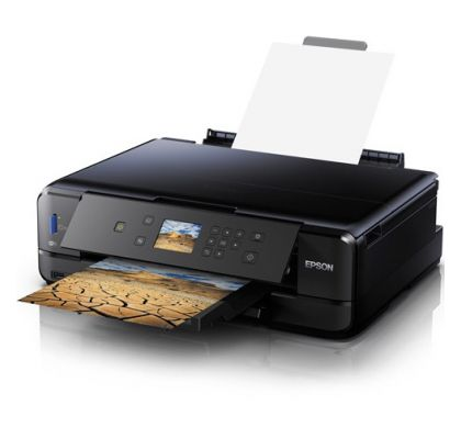 EPSON Expression Premium XP-900 Inkjet Multifunction Printer - Colour - Photo/Disc Print - Desktop LeftMaximum