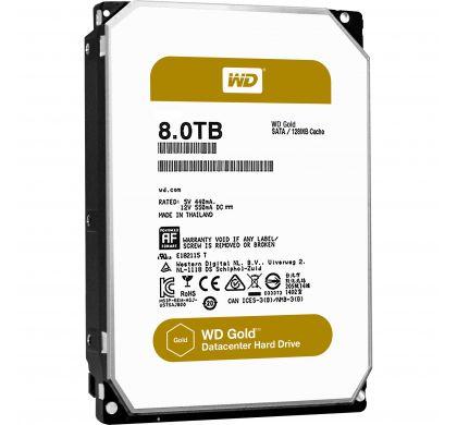 "WESTERN DIGITAL Gold 8002FRYZ 8 TB 3.5"" Internal Hard Drive - SATA"