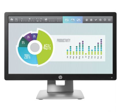 "HP Business E202 50.8 cm (20"") LED LCD Monitor - 16:9 - 7 ms"