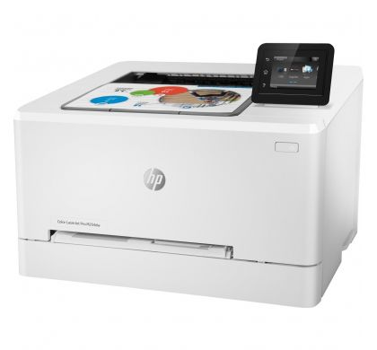 HP LaserJet Pro M254dw Laser Printer - Colour - 600 x 600 dpi Print - Plain Paper Print - Desktop LeftMaximum