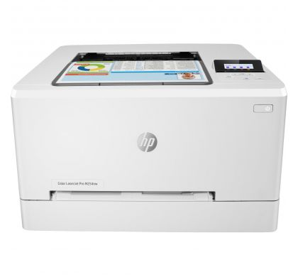 HP LaserJet M254nw Laser Printer - Colour - Plain Paper Print FrontMaximum