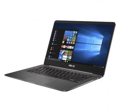 """ASUS ZENBOOK UX430UN-GV060R 35.6 cm (14"""") LCD Notebook - Intel Core i7 (8th Gen) i7-8550U Quad-core (4 Core) 1.80 GHz - 16 GB LPDDR3 - 512 GB SSD - Windows 10 Pro 64-bit - 1920 x 1080 - Tru2Life - Quartz Grey"""