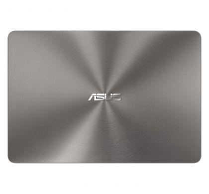 """ASUS ZENBOOK UX430UN-GV060R 35.6 cm (14"""") LCD Notebook - Intel Core i7 (8th Gen) i7-8550U Quad-core (4 Core) 1.80 GHz - 16 GB LPDDR3 - 512 GB SSD - Windows 10 Pro 64-bit - 1920 x 1080 - Tru2Life - Quartz Grey TopMaximum"""