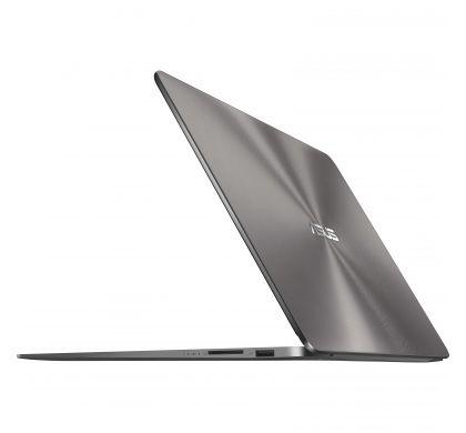 """ASUS ZENBOOK UX430UN-GV060R 35.6 cm (14"""") LCD Notebook - Intel Core i7 (8th Gen) i7-8550U Quad-core (4 Core) 1.80 GHz - 16 GB LPDDR3 - 512 GB SSD - Windows 10 Pro 64-bit - 1920 x 1080 - Tru2Life - Quartz Grey RearMaximum"""