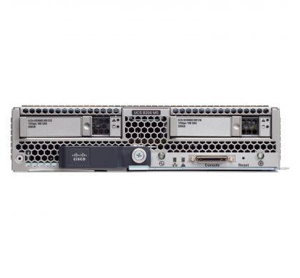CISCO B200 M5 Blade Server - 2 x Intel Xeon Silver 4114 Deca-core (10 Core) 2.20 GHz - 192 GB Installed DDR4 SDRAM - Serial ATA, 12Gb/s SAS Controller FrontMaximum