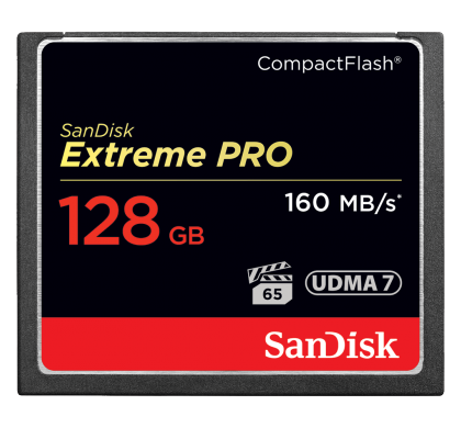 SANDISK Extreme Pro 128 GB CompactFlash