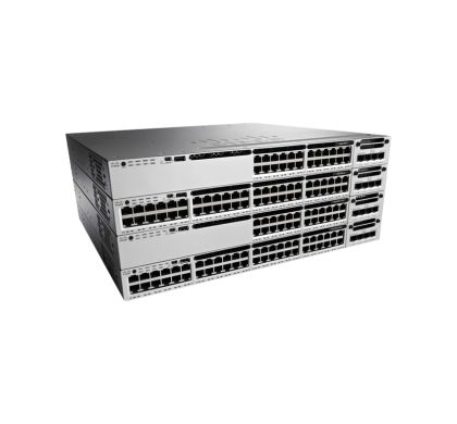 CISCO Catalyst WS-C3850-48F-S 48 Ports Manageable Layer 3 Switch