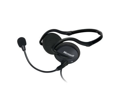 Microsoft LifeChat LX-2000 Wired Stereo Headset - Behind-the-neck - Supra-aural