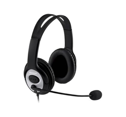 Microsoft LifeChat LX-3000 Wired Stereo Headset - Over-the-head - Circumaural