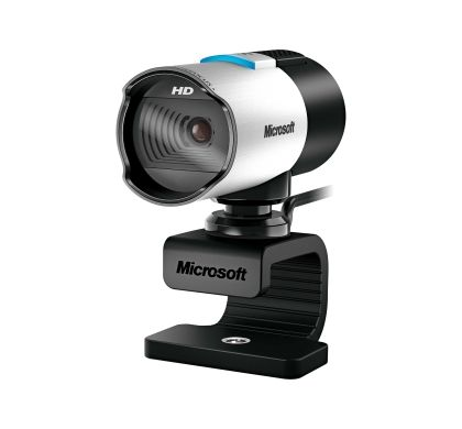 Microsoft LifeCam Webcam - 30 fps - Silver, Black - USB 2.0