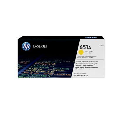 HP 651A Toner Cartridge - Yellow