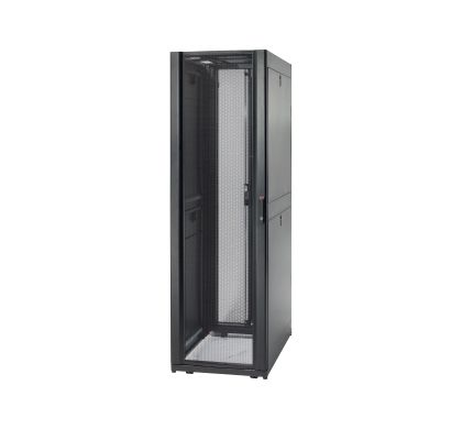 APC NetShelter SX 45U 482.60 mm Wide Rack Cabinet - Black