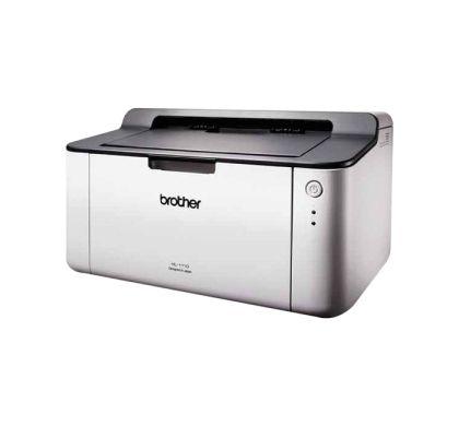 Brother HL-1110 Laser Printer - Monochrome - 2400 x 600 dpi Print - Plain Paper Print - Desktop
