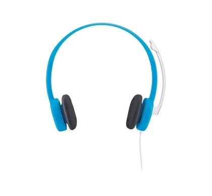 LOGITECH H150 Wired Stereo Headset - Over-the-head - Ear-cup - Sky Blue
