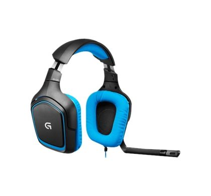 LOGITECH G430 Wired 40 mm Surround Headset - Over-the-head - Circumaural