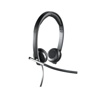 LOGITECH H650e Wired Stereo Headset - Over-the-head - Supra-aural