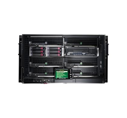 HP BladeSystem BLc3000 Blade Server Case - Rack-mountable - 136 kg