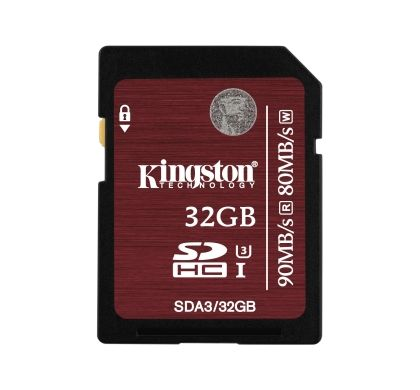 Kingston 32 GB Secure Digital High Capacity (SDHC)