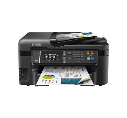Epson WorkForce WF-3620 Inkjet Multifunction Printer - Colour - Photo Print - Desktop